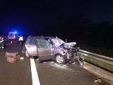 Wypadek w Skarżysku. Zderzenie ciężarówki z osobówką na S7. Pięć osób rannych!