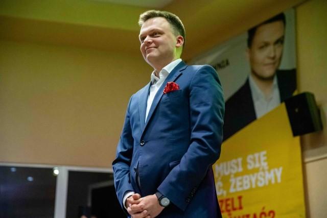 Szymon Hołownia w Białymstoku