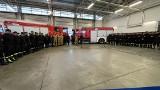 Strażak z Łodzi wyjeżdża z nową zmianą gaszącą pożary w Grecji. Zmienia łodzianina, który w poniedziałek (23.08) wraca do Polski