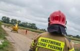 Pod Oleśnicą maszyna rolnicza wciągnęła nastolatka. Lądował śmigłowiec LPR