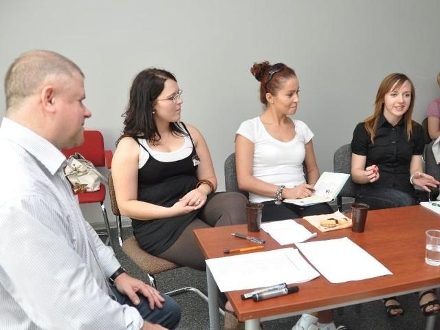 Uczestnicy spotkania dzielili się swoimi pomysłami, jak stowarzyszenie ma osiągnąć zakładane cele