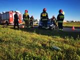 Wypadek w Koszalinie w strefie ekonomicznej. Jedna osoba ranna [ZDJĘCIA]