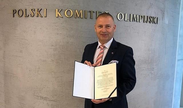 Senator Robert Dowhan, były prezes Falubazu Zielona Góra, będzie działał w Polskim Komitecie Olimpijskim.