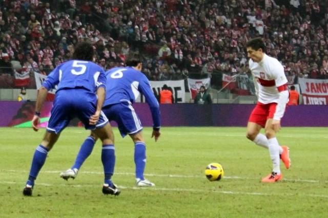 W akcji Robert Lewandowski, któremu znów nie udało się zdobyć gola.