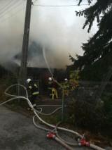 Pożar mieszkania w Solcu nad Wisłą. Akcja straży trwała ponad trzy godziny