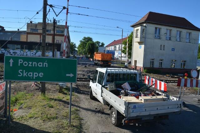 Remont przejazdu w Sulechowie