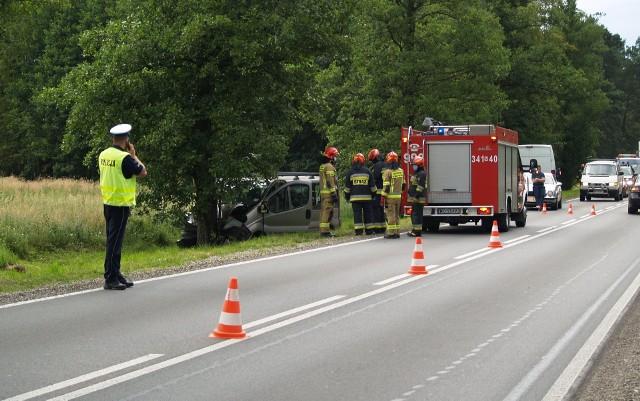 Wypadek w Antoniach, 16.07.2020