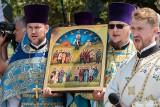 Podlascy męczennicy. Cerkiew prawosławna kanonizowała w Zaleszanach zamordowanych w 1946 roku przez oddział Romualda Raja ps. Bury (zdjęcia)