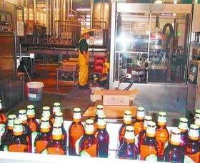 Nie zanosi się, aby linie produkcyjne browaru, jednego z największych zakładów produkcyjnych Łomży, miały stanąć. Spółka jest cz
