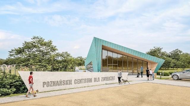 Nowe schronisko dla zwierząt w Poznaniu ma być najbardziej innowacyjnym obiektem tego typu w Polsce.--->