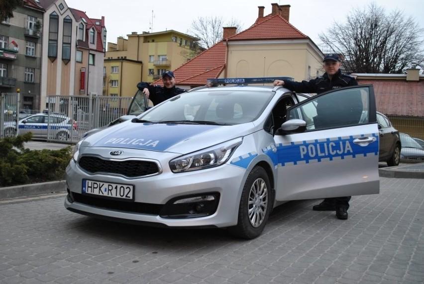Gdy policjanci z Trzebowniska zatrzymali na drodze pędzące...