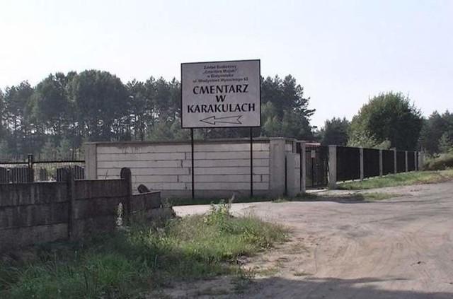 Karakule są praktycznie jedynym miejskim cmentarzem, gdzie nie ma problemu z miejscami na nowe groby