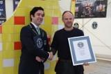 Białostoczanin Piotr Jończyk pobił rekord Guinnessa (zdjęcia)
