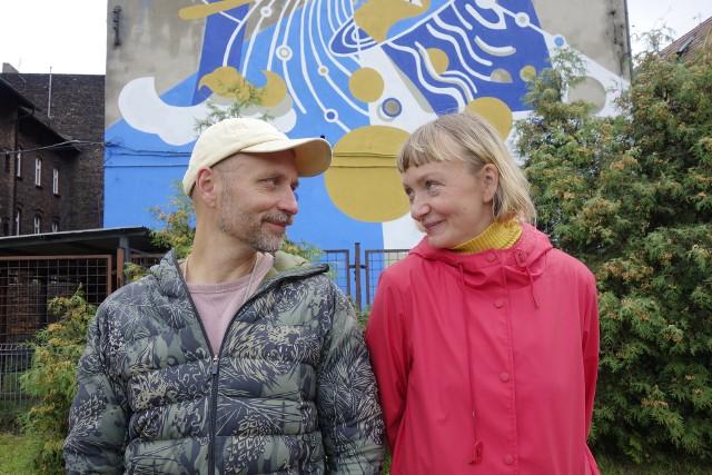 W Katowicach - Szopienicach powstaje mural poświęcony Stanisławowi Lemowi