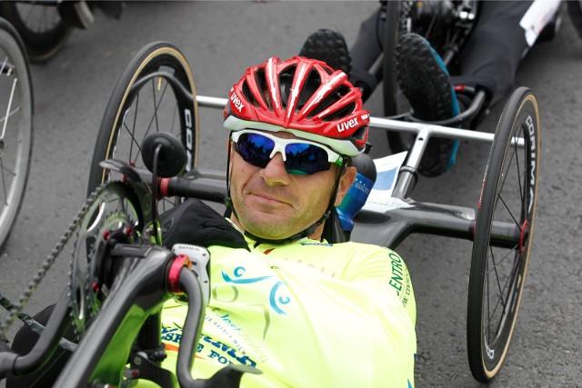Rafał Wilk jest m.in. czterokrotnym medalistą paraolimpiady.