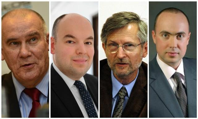 Tadeusz Dziuba; Jan Dziedziczak; Witold Czarnecki; Maks Kraczkowski