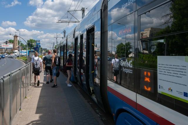 Rondo Fordońskie staje się za ciasne dla tramwajów