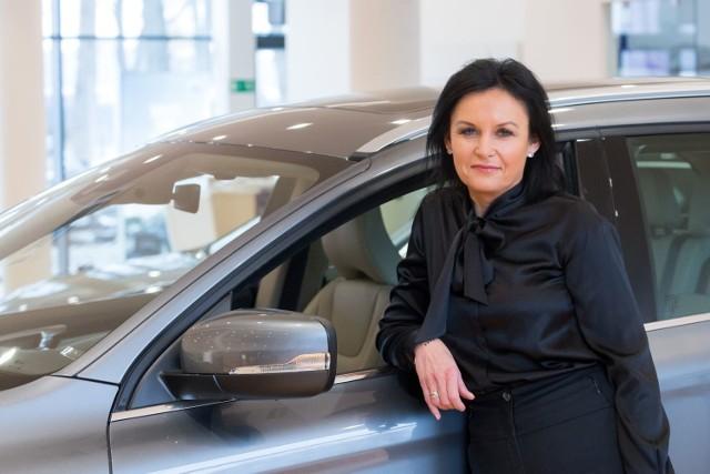 Katarzyna Arefiew zarządza dwoma salonami Volvo, salonem Hyundaia i serwisem Volkswagena