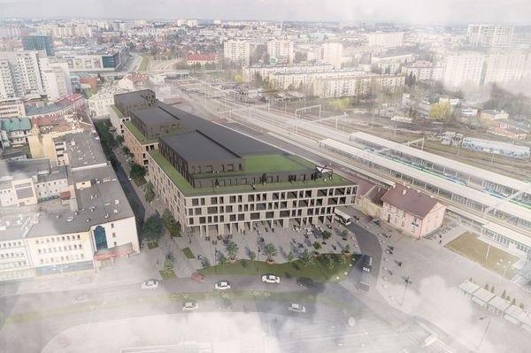 Tak mógłby wyglądać nowoczesny kompleks z dworcem PKS w Rzeszowie