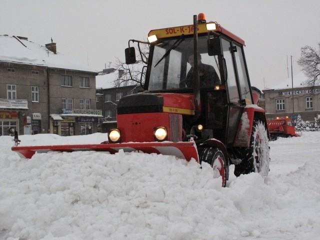 Zima w Jaśle.Zima w Jaśle.