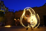 Walentynki po słowiańsku - spektakl ognia na zamku w Toruniu [zdjęcia]