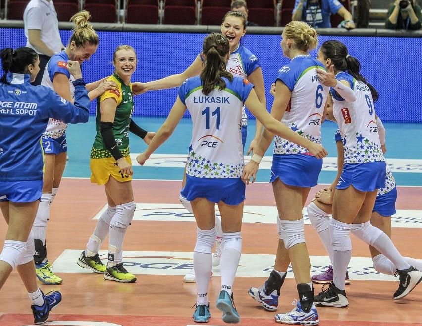 Liga Mistrzyń: Siatkarki PGE Atomu Trefla Sopot pojechały do Stambułu po lekcję