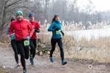 City Trail w mocnej obsadzie. Michał Rozmys i Mariola Ślusarczyk najszybsi na zmrożonej trasie wokół Rusałki