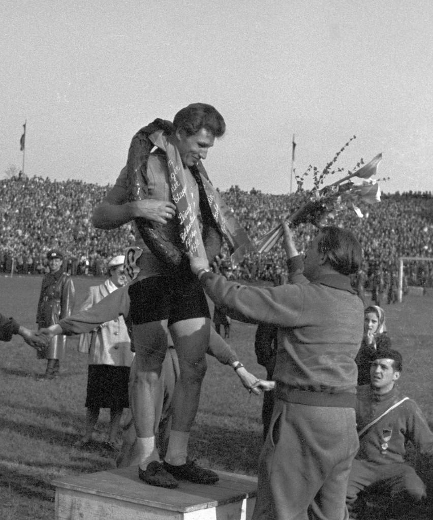 Stanisław Królak - pierwszy polski zwycięzca Wyścigu Pokoju...