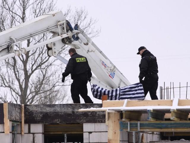 na budowie osiedla Ignatki miał miejsce 13 lutego 2010 roku