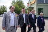 Prezydent Andrzej Duda w firmie Gomar w Pińczowie. Zobacz co się działo w zakładzie [ZDJĘCIA]
