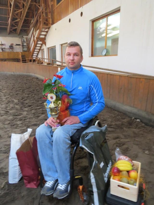Kamil Karwowski, tegoroczny zwycięzca zawodów w Nowym Ciechocinku