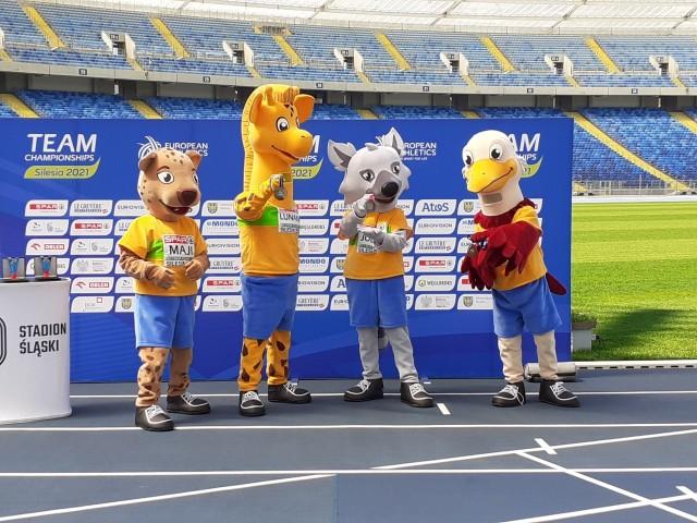 Na konferencji na Stadionie Śląskim zaprezentowano medale DMEZobacz kolejne zdjęcia. Przesuwaj zdjęcia w prawo - naciśnij strzałkę lub przycisk NASTĘPNE