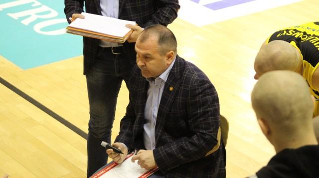 Trener Dariusz Kaszowski był zadowolony z gry w obronie swojego zespołu