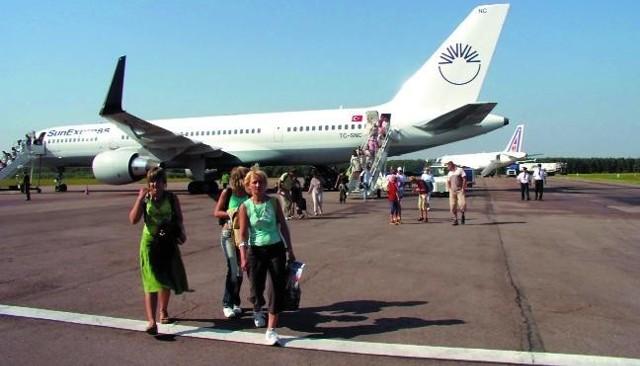 Dzisiaj po raz pierwszy z Goleniowa będą startować samoloty do Grecji.