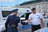 Asp. Marcin Staszak z Kruszwicy uczestniczył w warszawskich uroczystościach z okazji 100-lecia policji