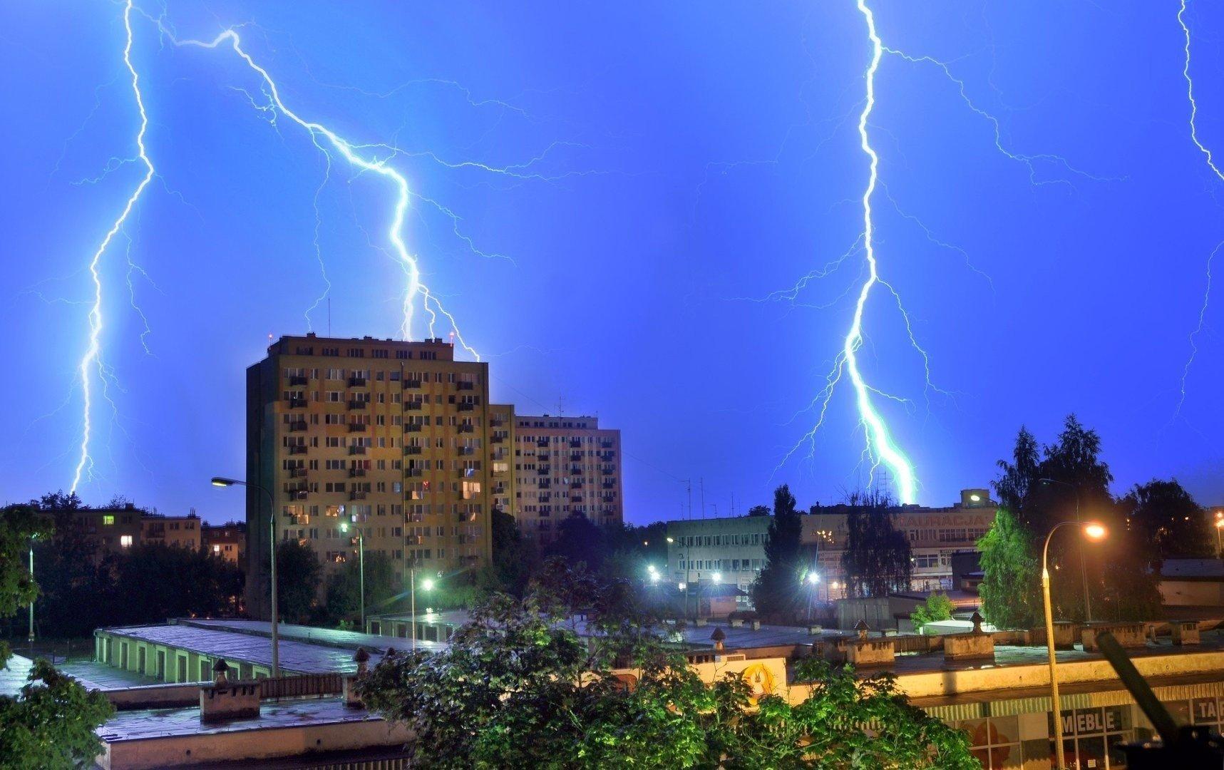 Gdzie jest burza w Opolskiem? W niedzielę burze z gradem ...