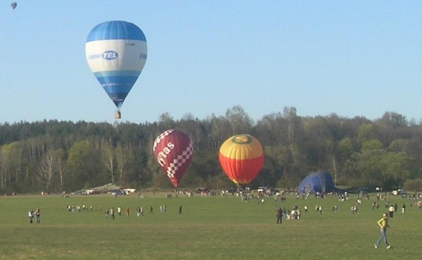 Międzynarodowe zawody balonowe rozegrane zostaną na lotnisku...