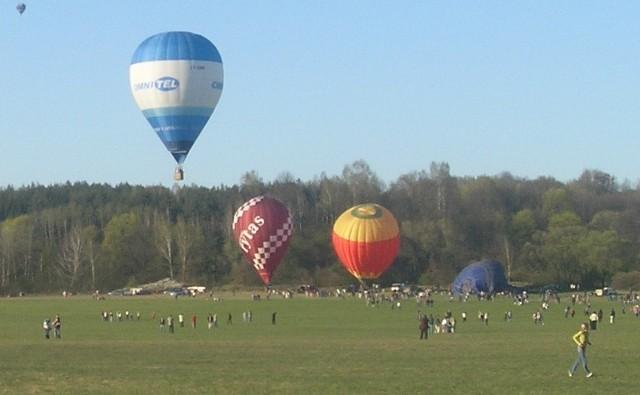 Międzynarodowe zawody balonowe rozegrane zostaną na lotnisku w Lisich Kątach pod Grudziądzem od 14 do 17 kwietnia 2016 r
