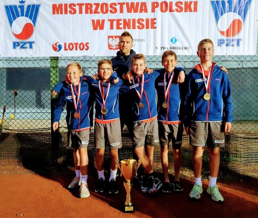 Skład drużyny na zdjęciu od lewej: Wiktor Jeż, Juliusz Stańczyk, Mateusz Chrzanowski, Tymon Litwic, Hubert Plenkiewicz