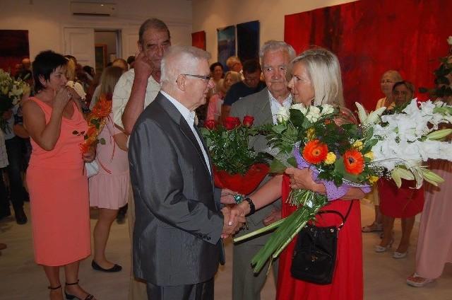 W odmalowanej galerii można obecnie oglądać obrazy Barbary Łuczkowiak. Artystkę zaproszono do zasiadania w Radzie Muzeum
