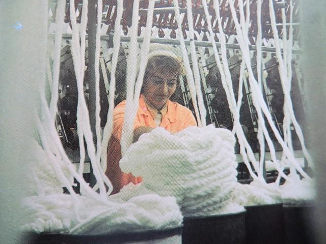 W zakładach włókienniczych pracowały głównie kobiety