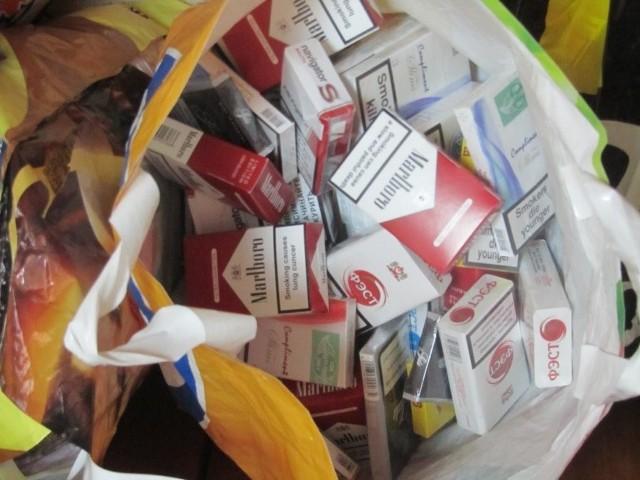 Podrabiane papierosy