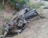 Audi dachowało koło Gubina. Dwóch mężczyzn trafiło do szpitala w Zielonej Górze. W jakim są stanie?