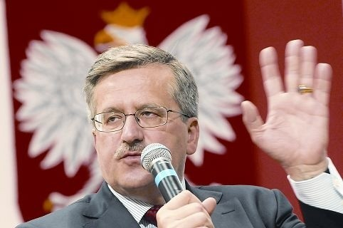 Marszałek Komorowski na pytania odpowiadał prawie 1,5 godziny.