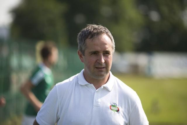 Jacek Magnuszewski, trener Radomiaka Radom. Przez wiele lat pracował w Wiśle Puławy.