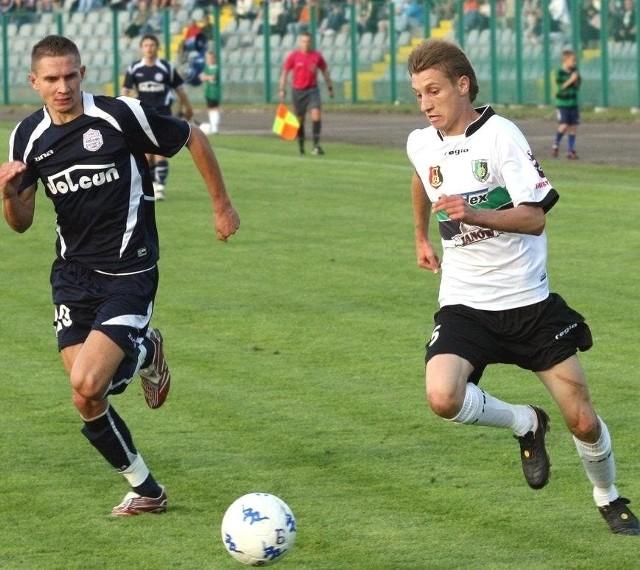 Kamil Karcz (z prawej) przyjedzie na trening piłkarzy Stali Stalowa Wola.