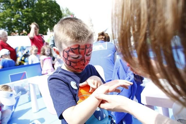 Dzień Dziecka na placu Wolności w Opolu.