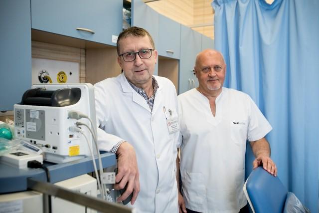 Od lewej: prof. Tomasz Jargiełło i prof. Tomasz Paszkowski