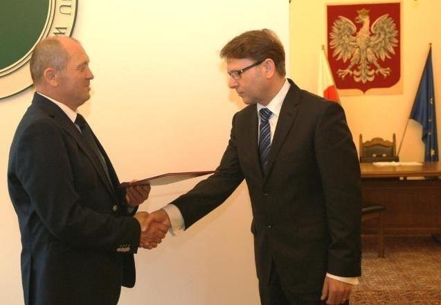 Marek Sawicki wręczył akt powołania nowemu Głównemu Lekarzowi Weterynarii