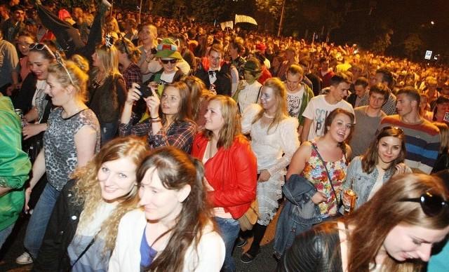 Studenci przebiegli ulicami Szczecina, rozpoczynając tym samym Juwenalia 2014.